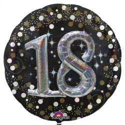 - 18 Yaş İkili Set Folyo Balon (81x81 cm)
