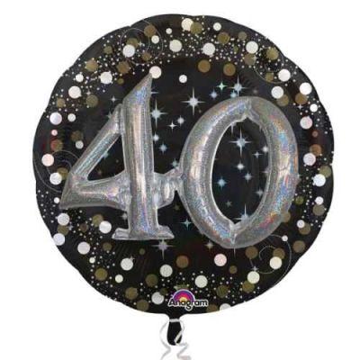 40 Yaş İkili Set Folyo Balon (81x81 cm)