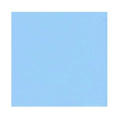 Açık Mavi Peçete (33x33 cm) 16'lı Paket