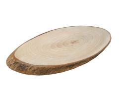 - Kütük Ağaç Sade Kestane Ağacı Büyük