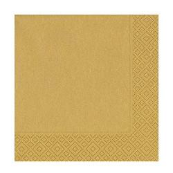 - Altın Kağıt Peçete (33x33 cm) 20'li Paket