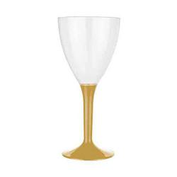 - Altın Lüks Şarap Bardağı (150 cc) 10'lu Paket