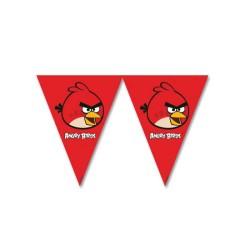 - Angry Bırds Klasik Üçgen Bayrak Set