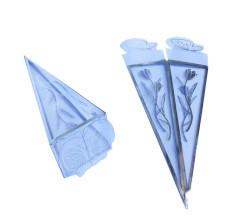 Asetat Piramit Gümüş - Thumbnail