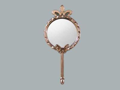 Kelebek Ve Taçlı Gümüş Ayna