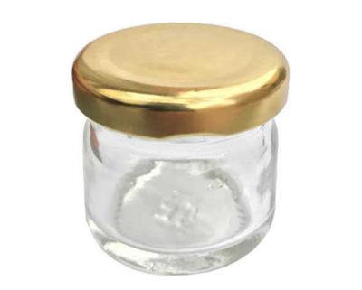 Kavanoz 40cc Altın Kapaklı