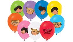 - Balon 4+1 Rafadan Tayfa Baskılı Pastelpk:100 Kl:50
