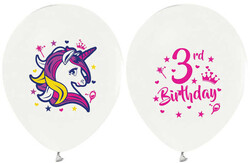 - Balon 4+1 Unıcorn 3 Yaş Bask.12