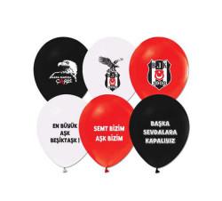 - Beşiktaş Lisanslı Balon 12 inç (25x30 cm) 100'lü Paket