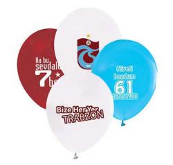 - Trabzonspor Lisanslı Balon 12 inç (25x30 cm) 100'lü Paket