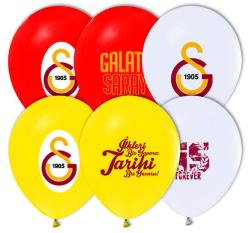 - Galatasaray Lisanslı Balon 12 inç (25x30 cm) 100'lü Paket