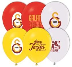 - Galatasaray Lisanslı Balon 12 inç (25x30 cm) 12'li Paket