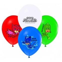 - Pijamaskeliler Lisanslı Balon 12