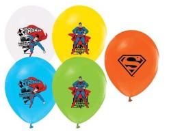 - Superman Lisanslı Balon 12
