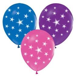 - Balon Çepeçevre Yıldızlı Model Pk:100 Kl:50