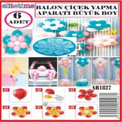 Balon Çiçek Yapma Aparatı 8 Cm - Thumbnail