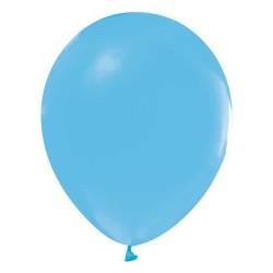 - Açık Mavi Düz Balon 12 inç (25x30 cm) 100'lü Paket