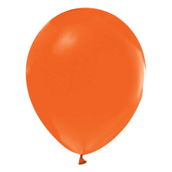 - Açık Turuncu Düz Balon 12 inç (25x30 cm) 100'lü Paket