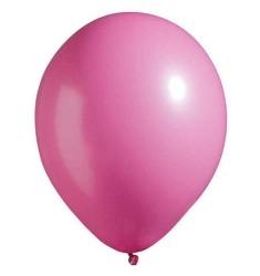 - Fuşya Düz Balon 12
