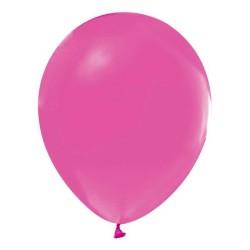 - Fuşya Düz Balon 12 inç (25x30 cm) 100'lü Paket