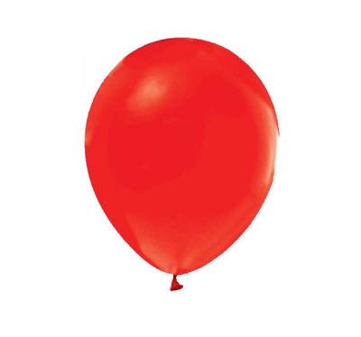 Kırmızı Düz Balon 12 inç (25x30 cm) 100'lü Paket