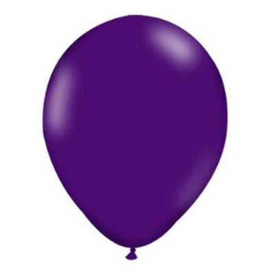 Mor Düz Balon 12