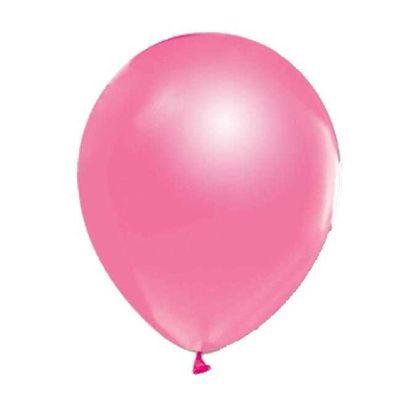 Pembe Düz Balon 12