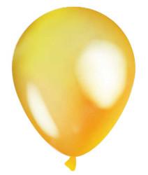 - Şeffaf Sarı Balon 12 inç (25x30 cm) 100'lü Paket