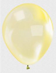 - Balon Düz 12 İnc Şeffaf Sarı Pk:100 Kl:50