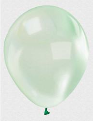 - Balon Düz 12 İnc Şeffaf Yeşil Pk:100 Kl:50