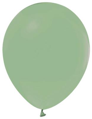 Balon Düz Pastel(makaron Balon) Küf Yeşili Pk:100