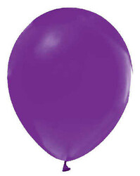 - Balon Düz Pastel(makaron Balon)12 İnc Lila P100-50