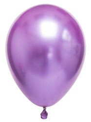- Krom Parlak Mor Balon 16 inç (30x40 cm) 50'li Paket