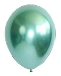 - Krom Parlak Yeşil Balon 16 inç (30x40 cm) 50'li Paket