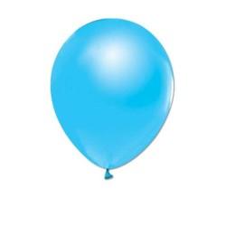 - Açık Mavi Metalik Balon 12 inç (25x30 cm) 20'li Paket