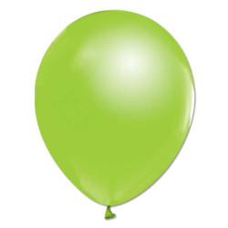 - Açık Yeşil Metalik Balon 12 inç (25x30 cm) 100'lü Paket