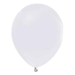 - Beyaz Metalik Balon 12 inç (25x30 cm) 100'lü Paket