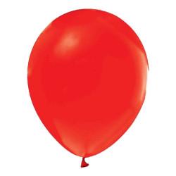 - Kırmızı Metalik Balon 12 inç (25x30 cm) 100'lü Paket