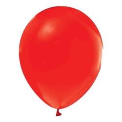 - Kırmızı Metalik Balon 12 inç (25x30 cm) 20'li Paket