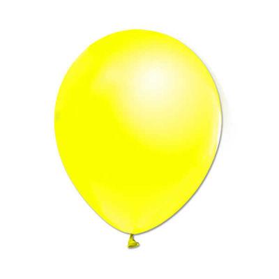 İnci Sarı Metalik Balon 12 inç (25x30 cm) 100'lü Paket