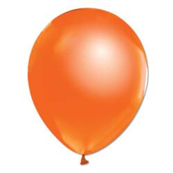 - Turuncu Metalik Balon 12 inç (25x30 cm) 20'li Paket