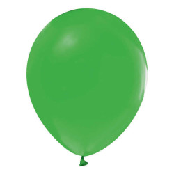 - İnci Yeşil Metalik Balon 12 inç (25x30 cm) 100'lü Paket