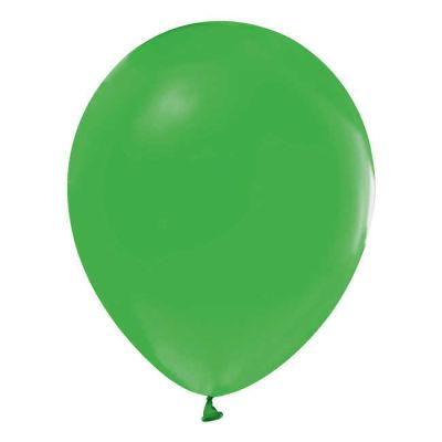 İnci Yeşil Metalik Balon 12 inç (25x30 cm) 100'lü Paket