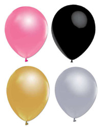 - Metalik Balon Yetişkin Serisi 12 inç (25x30 cm) 20'li Paket
