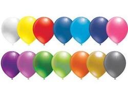 - Balon Metalik Karışık 12