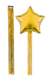 - Balon Püskülü Metalize Yapışkanlı 4 Lü Set 90 Cm Altın Pk:4 Kl:200
