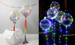 - Şeffaf Bobo Balon 24 inç (60x60 cm)