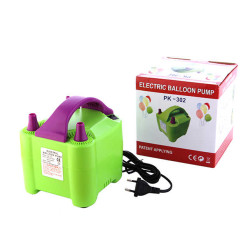 - Elektrikli Çift Çıkışlı Balon Şişirme Makinası