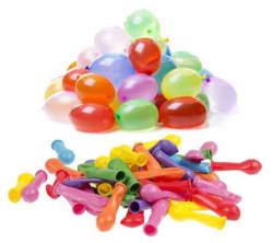 - Karışık Renkli Su Balonu (3x8 cm) 500'lü Paket