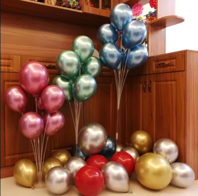 7 Çubuklu Balon Süsleme Standı - Büyük 70cm
